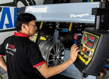 Wheel Rim Restoration
